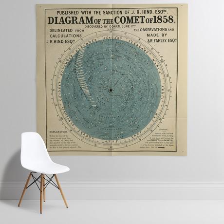 'Diagram of the Comet of 1858'