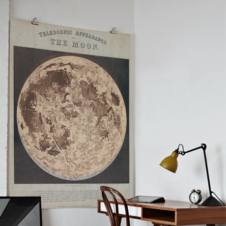 'Telescopic appearance of the moon'