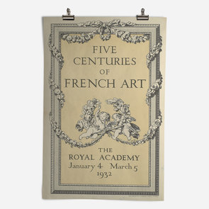 RA Exhibition of Five Centuries of French Art 1932