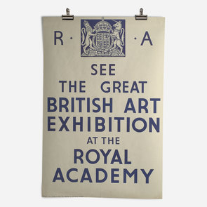 RA Great British Art Exhibition 1934