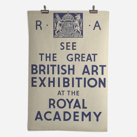 RA Great British Art Exhibition 1934