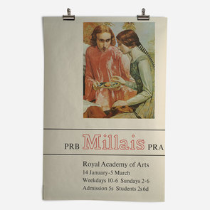 RA Millais Exhibition 1967