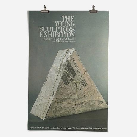 RA Young Sculptors Exhibition 1970