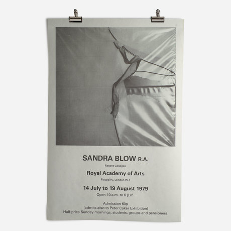 RA Sandra Blow Exhibition 1979
