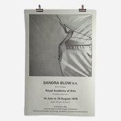 RA Sandra Blow Exhibition 1979