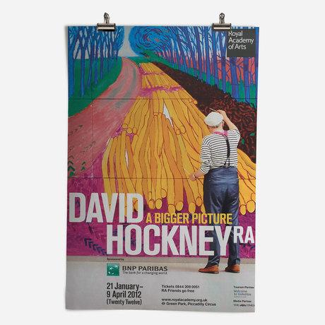 RA David Hockney Exhibition 2012