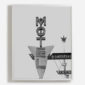'Motel Sign, Wyoming'
