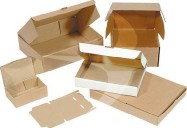 294 x 164 x 118mm Die Cut Cartons  (Style 0215)