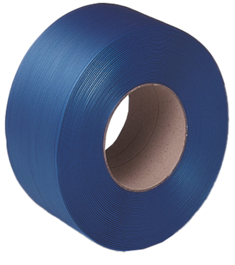 TENSO 12 x 0.80mm x 1000m Blue PP Strapping (200/150)
