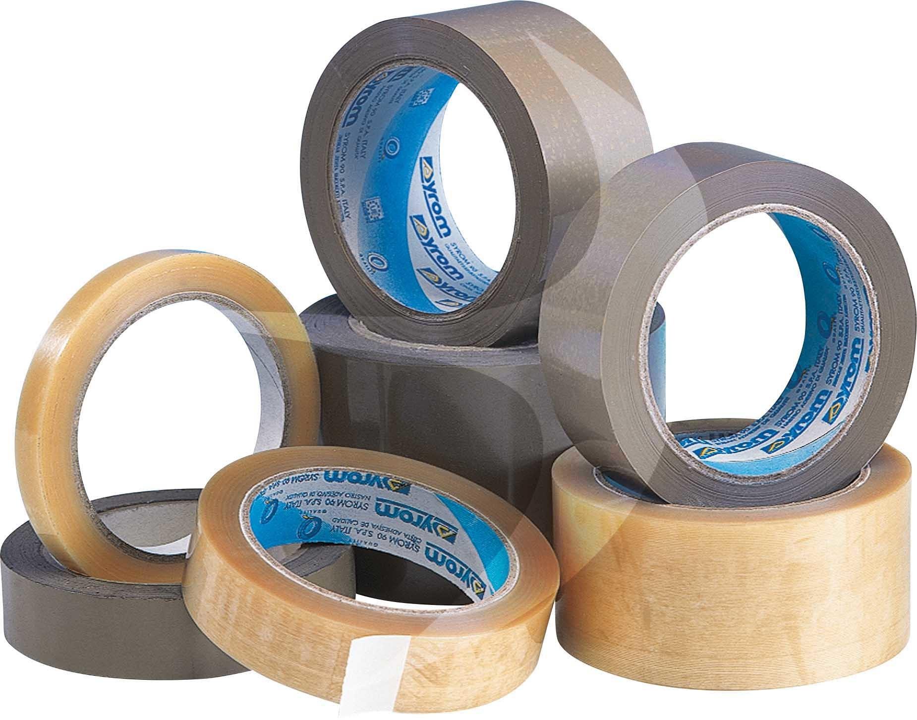 DENVA 24mm x 66m Clear PP Tape