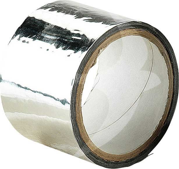 50mm x 50m Aluminum Silver Tape