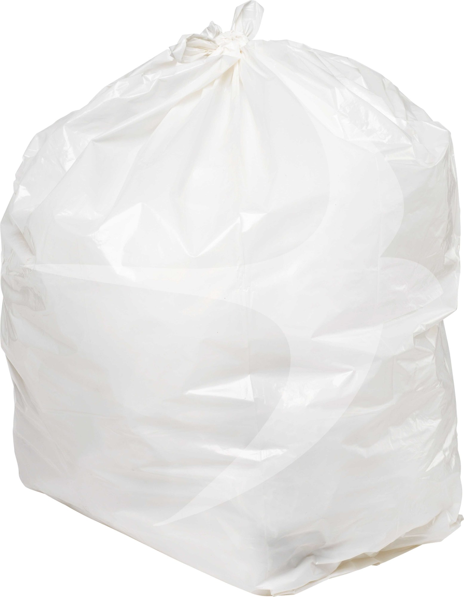 406 x 625 x 975mm Light Duty Clear Refuse Sacks