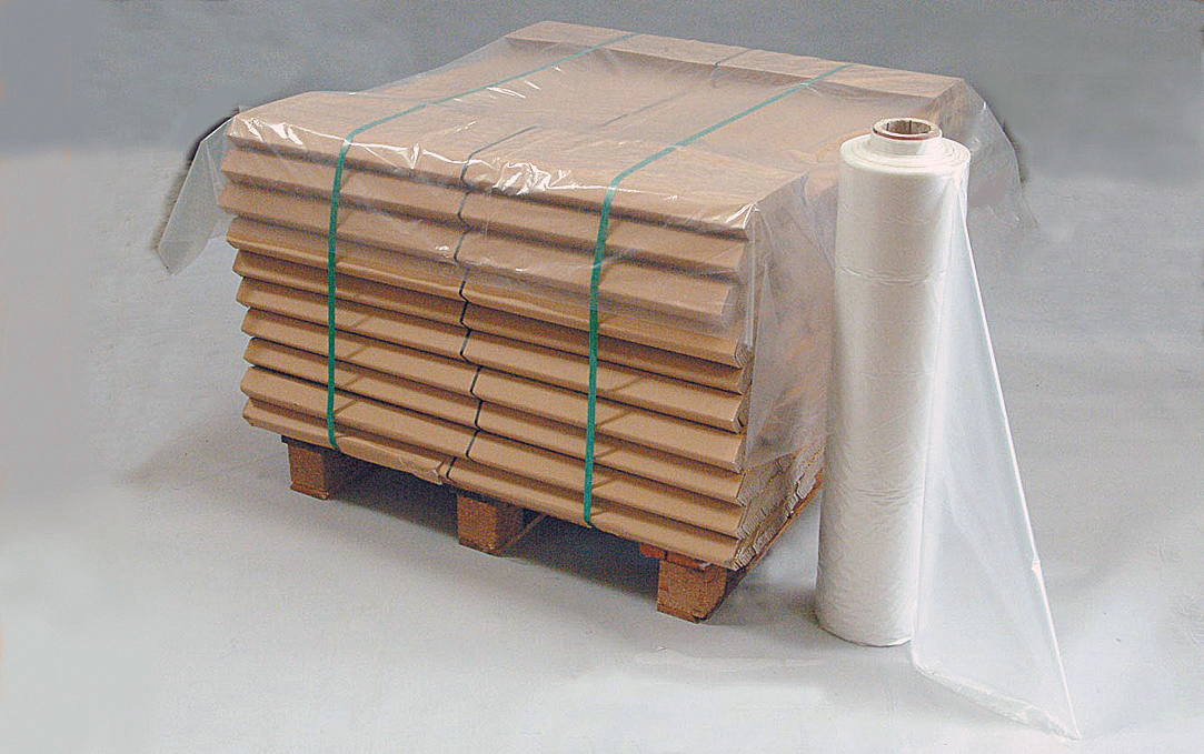 3800 x 1550mm Light Duty Clear Pallet Top Covers / Bags (100/Roll)