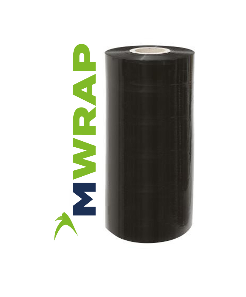 500mm x 1500m MWrap Black Machine Film