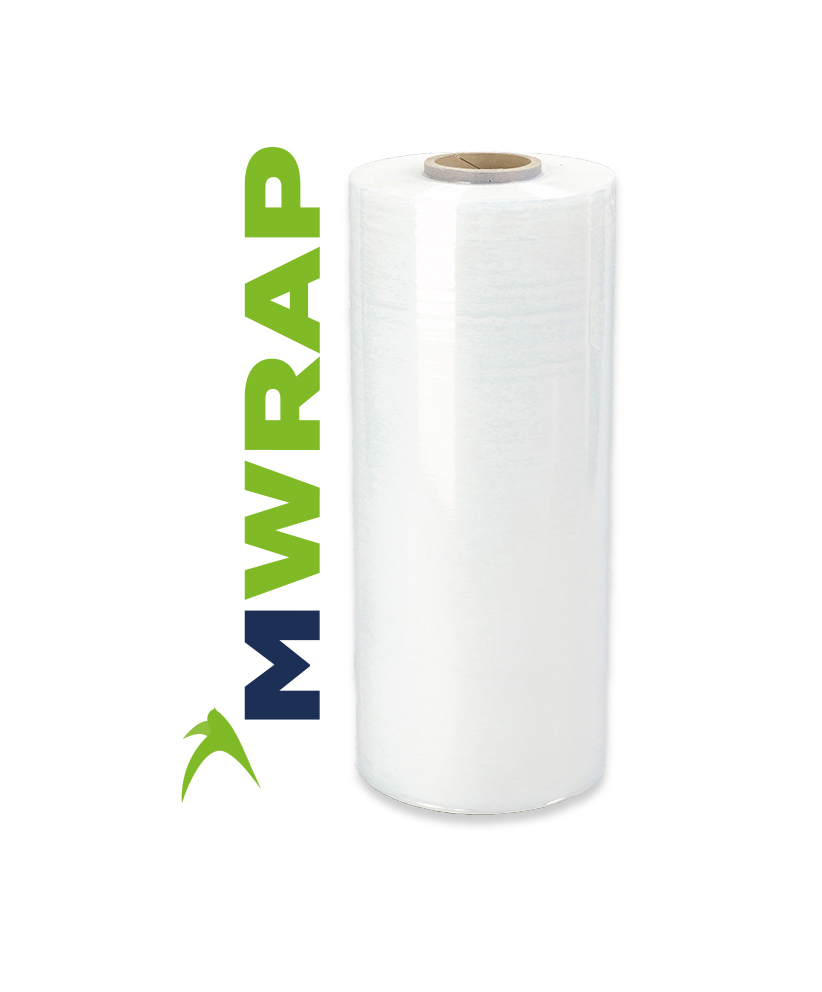 500mm x 1700m MWrap White Machine Film