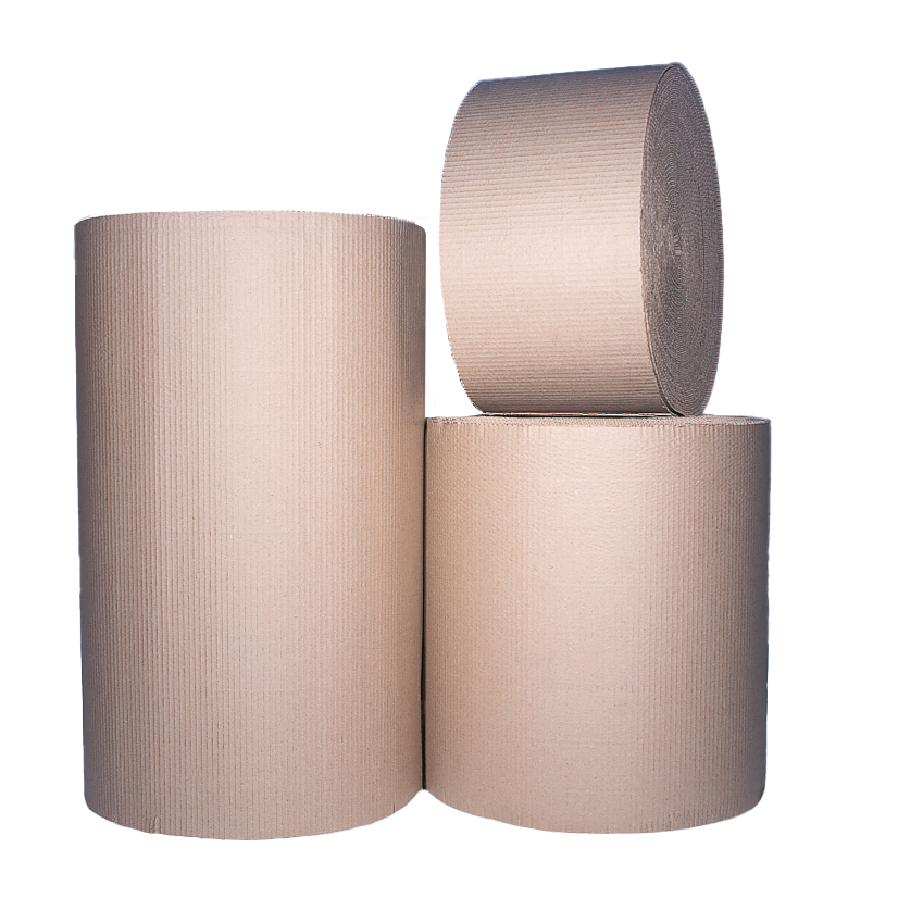 ECORAP 600mm x 75m Corrugated Paper Roll