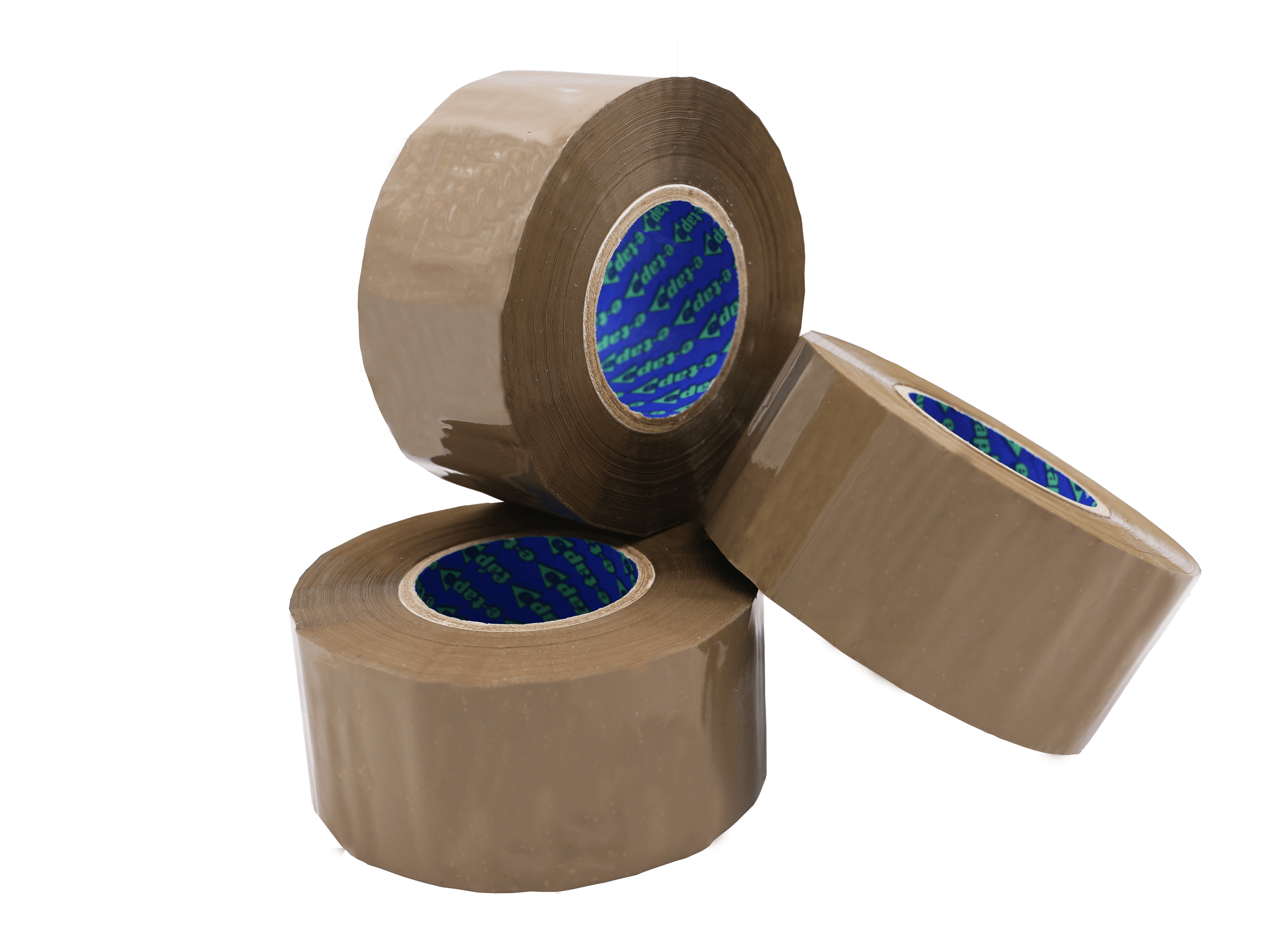 E-TAPE® Gold 50mm x 150m Brown PP Tape