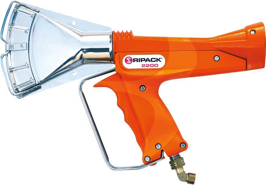 RIPACK 2200 Gas Shrink Gun Set upto 68kw