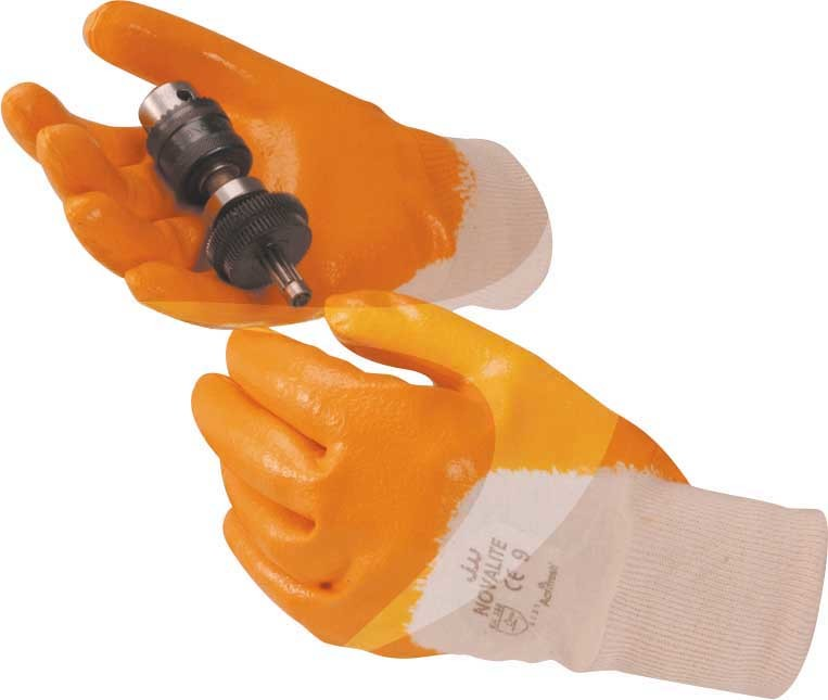 Size 9 Latex Dipped Gloves