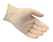 Large Latex Gloves - Powderfree
