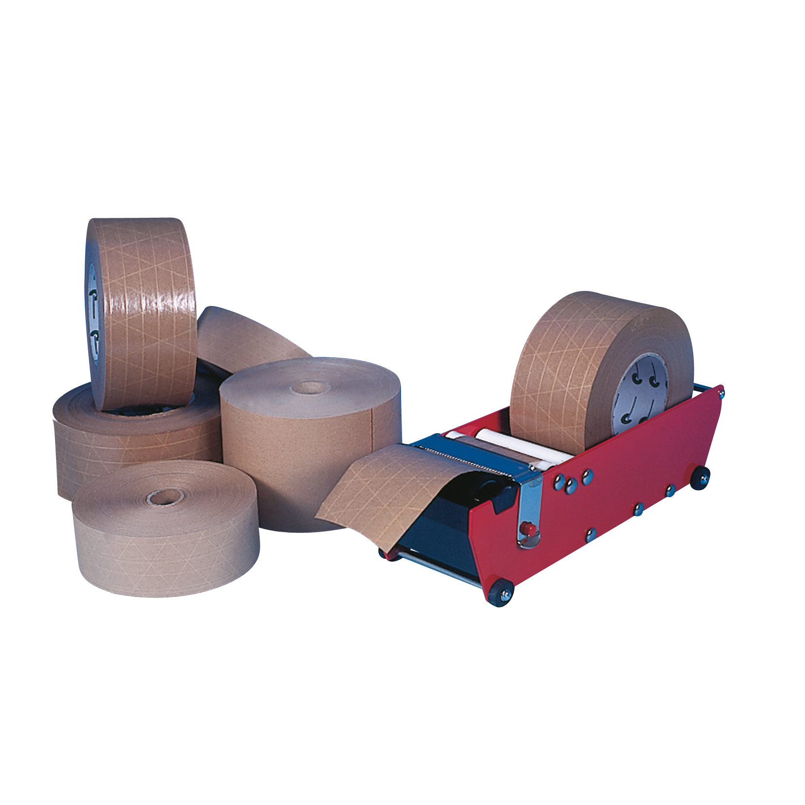 50mm x 200m Gummed Paper Tape (Gummed Side Out)
