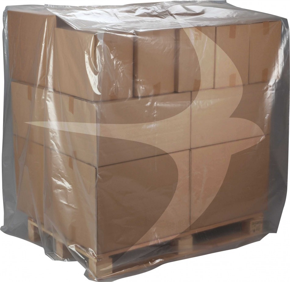 1250 x 2300 x 2000mm Heavy Duty Pallet Covers Shrinkable (25/roll)