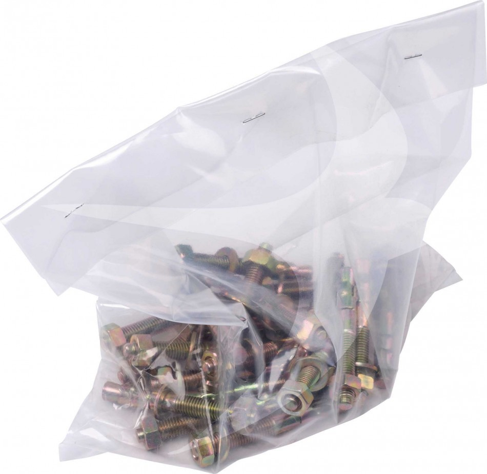 125 x 175mm Heavy Duty Clear Bags