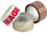 TEXUS 50mm x 66m Brown PP Tape