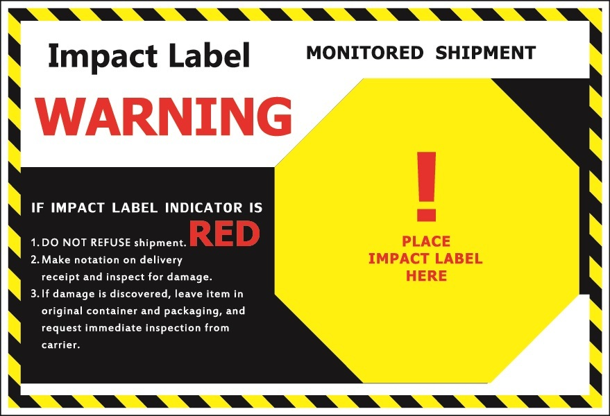 Impact Backing Label
