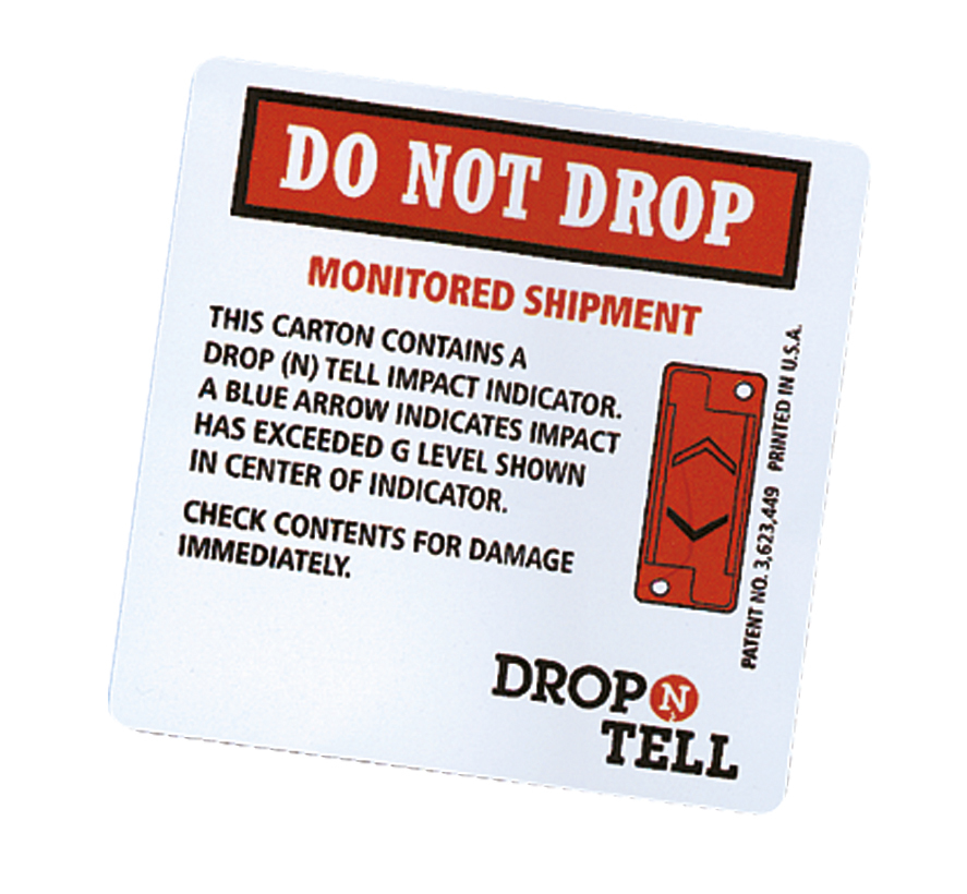 Drop 'N' Tell Transit Monitor (50KG)