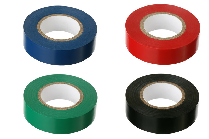 19mm x 33m White Electrical Tape