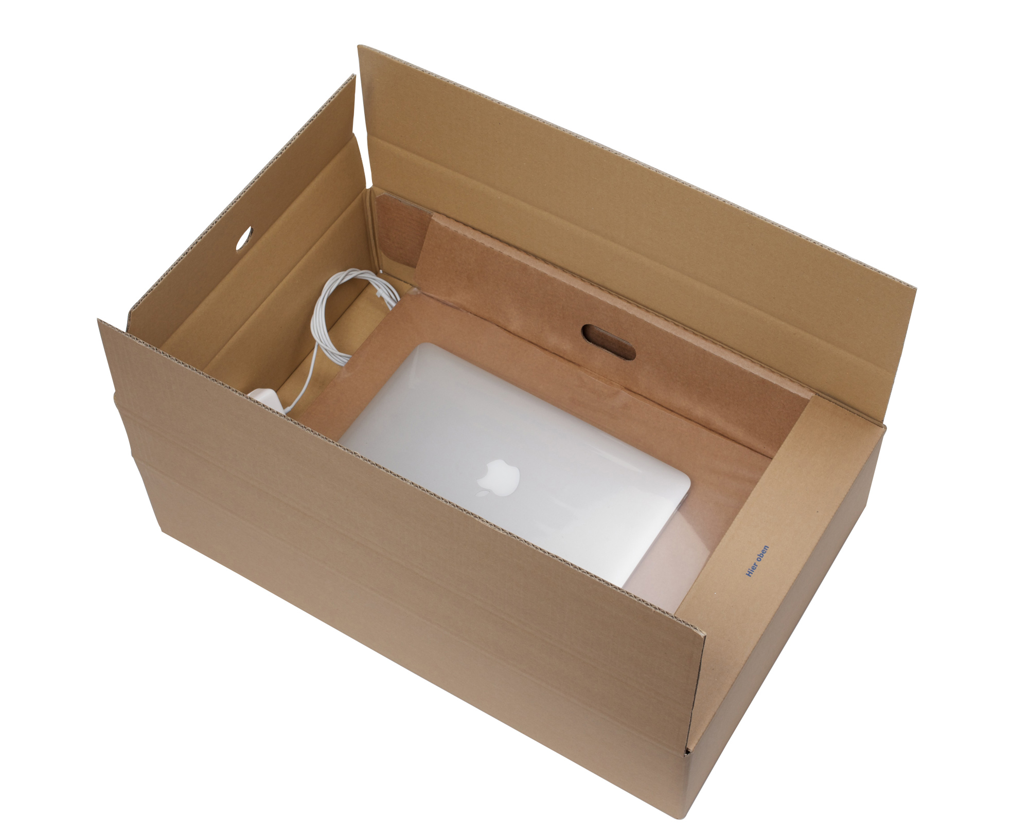 "438 x 302 x 0-108mm 10""-12"" Laptop Pack Outer Box"