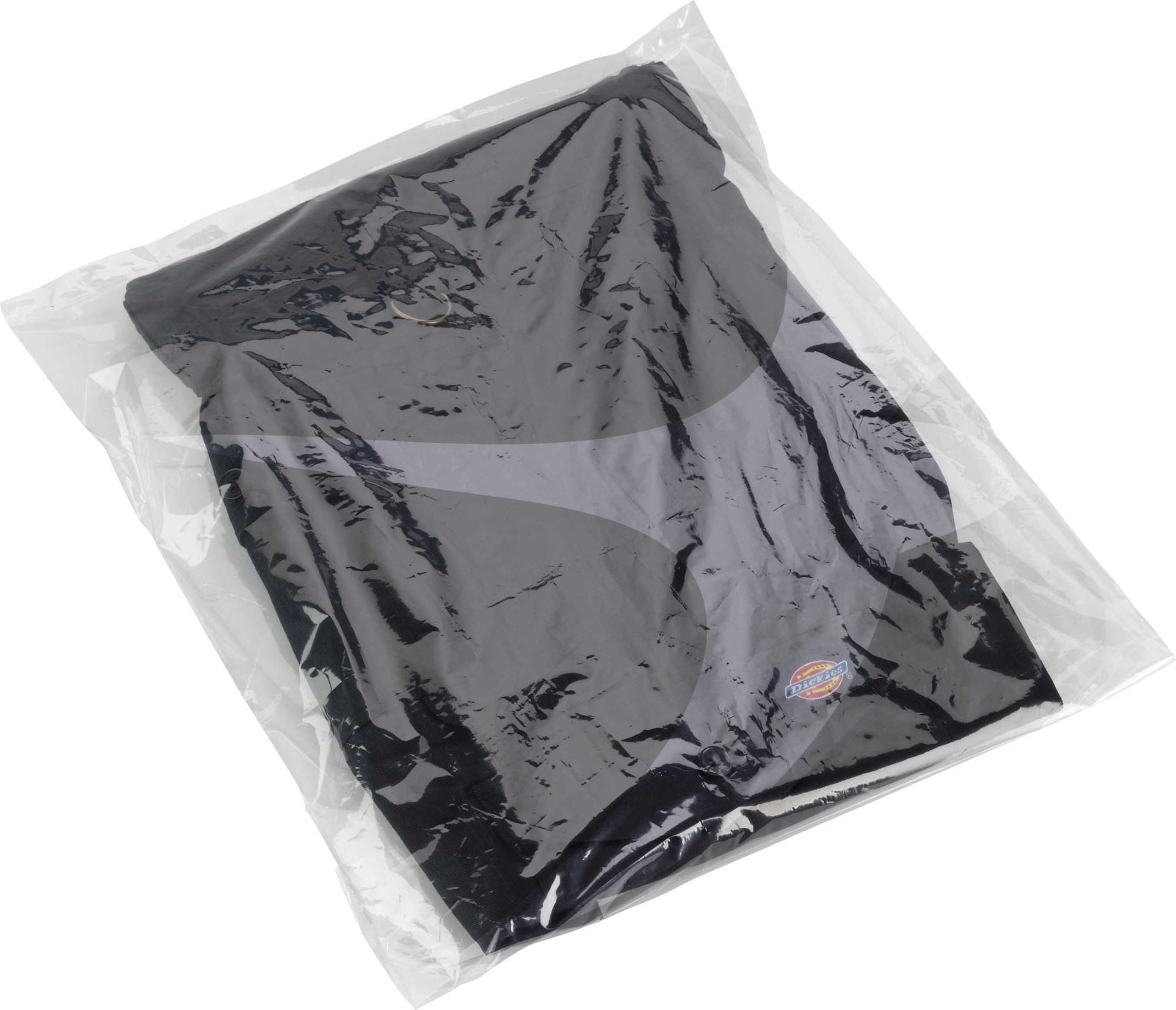 260 x 800mm x 160g Clear Low Duty Poly Bags (500 box)