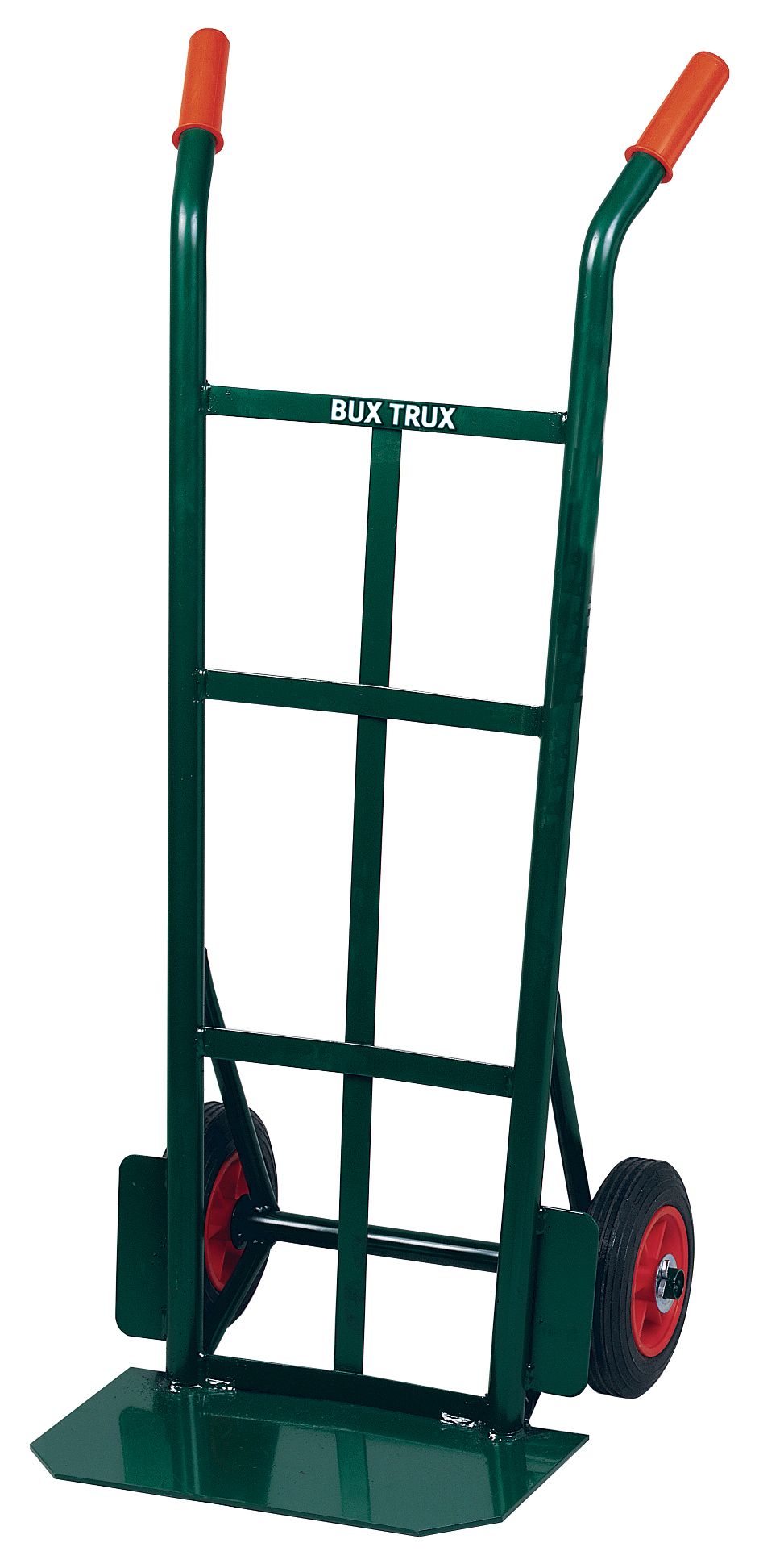 "Superior Budget Sack Truck, Solid Tyres. 14"" Deep Plate"