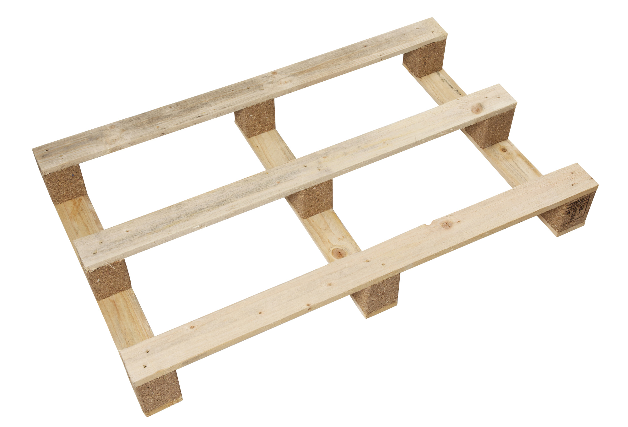 1200 x 1000mm HT Light Duty Pallet with FPB + 90mm Blocks