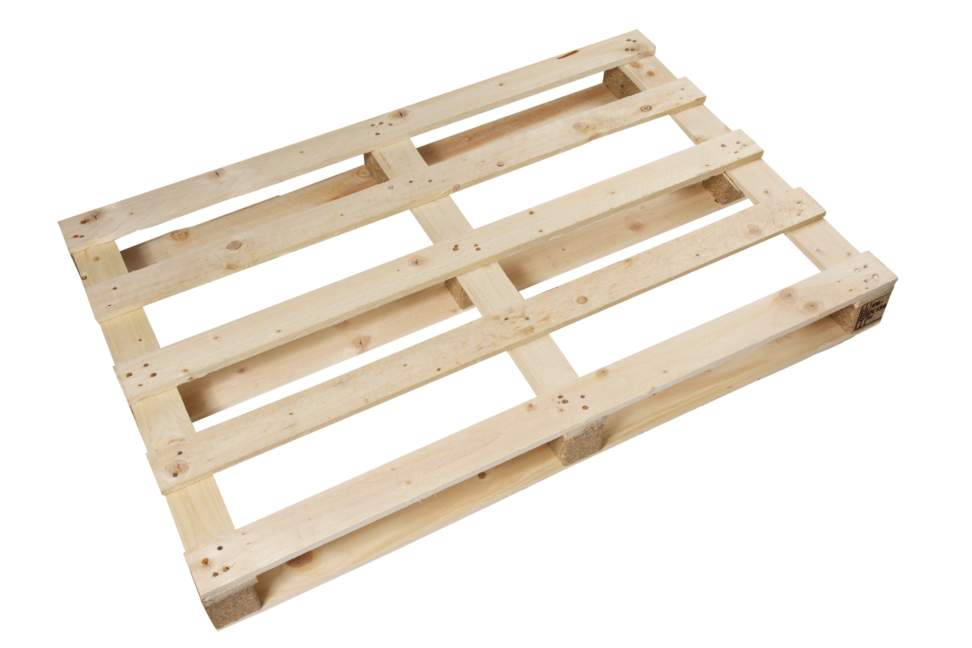 1100 X 895mm Medium Duty Pallet Full Top + 90mm Blocks