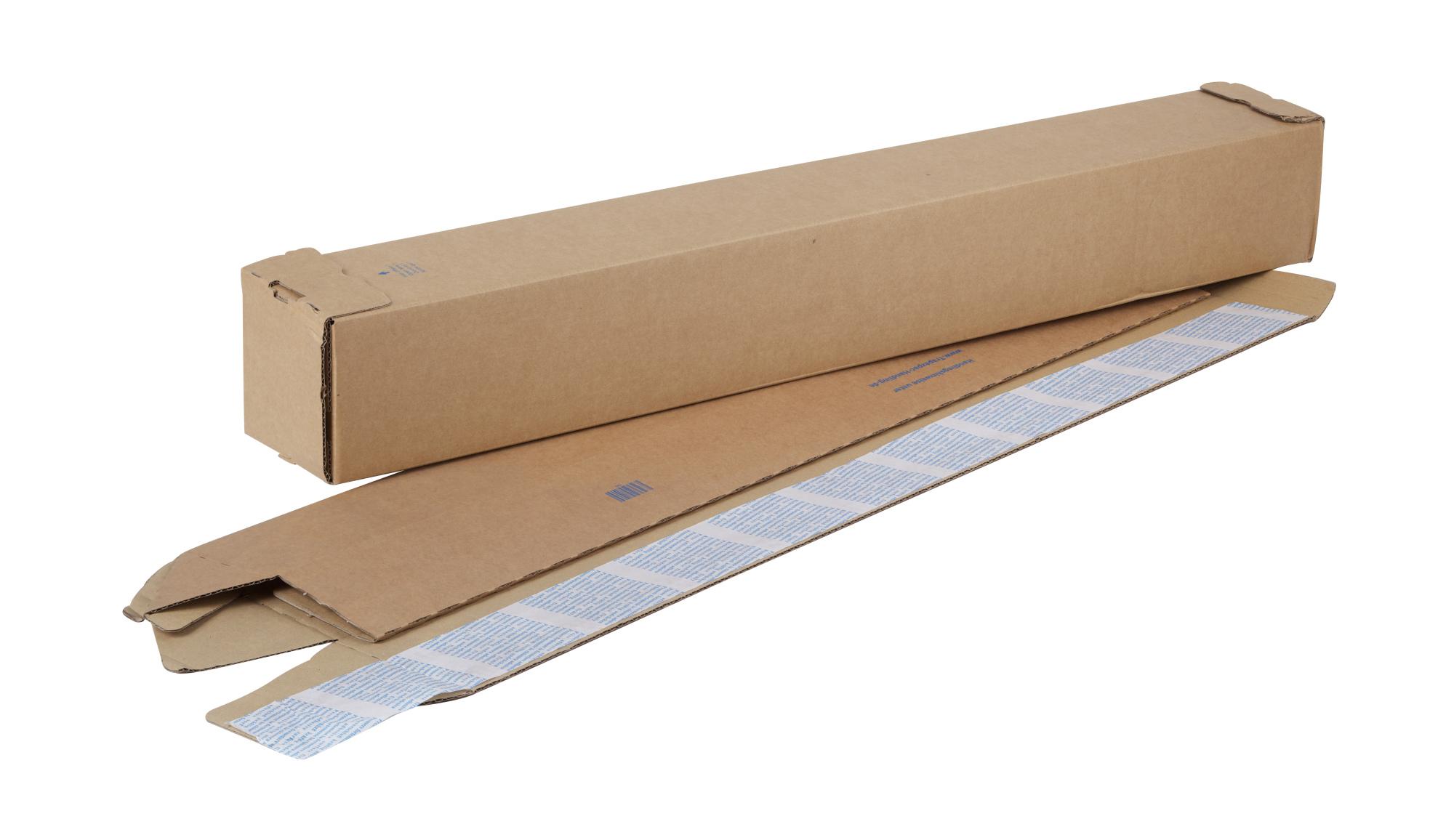 Corrugated Square Tube 860 x 105 x 105mm