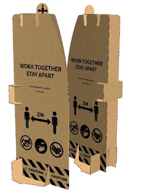 Safe Working Barrier (10/Pack)
