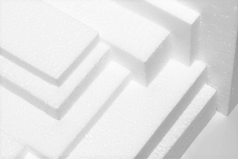 2440 x 1220 x 25mm Polystyrene Sheet