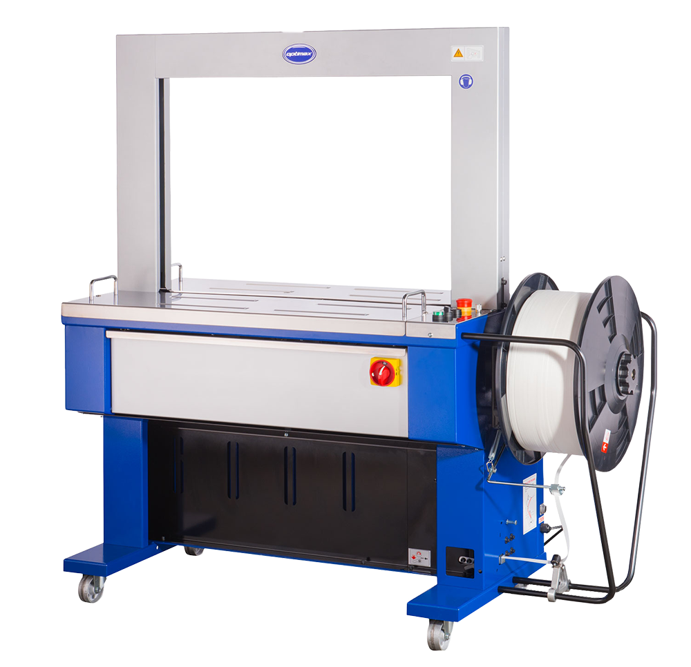 Fully Automatic Machine for use with 12mm Polyprop Strapping, 1050 x 800mm arch