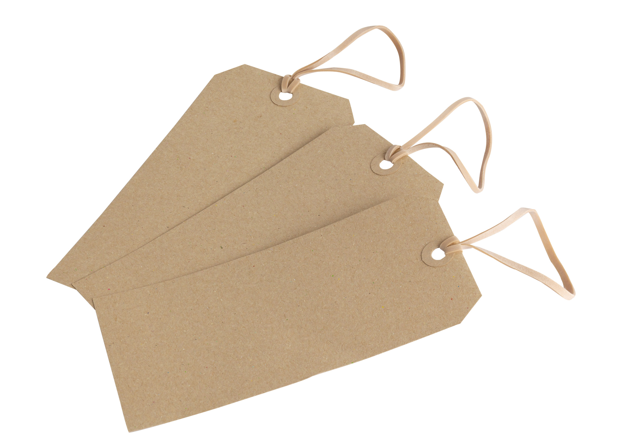120 x 180mm Brown 225gsm Tags Only