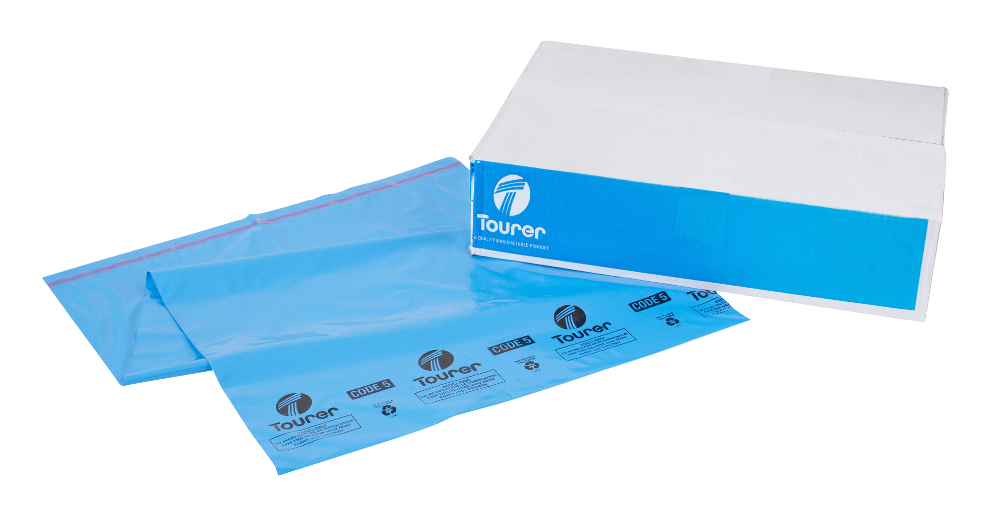 229 x 318mm Opaque Selfseal Polypouch