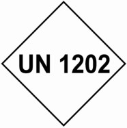 100 x 100mm UN Hazard Label Custom 'UN1263'