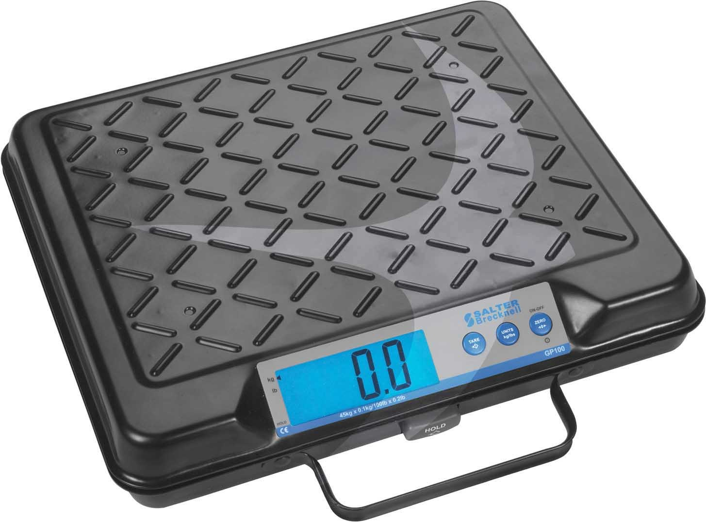 Portable Parcel Scale 278x318mm Up to 45Kg