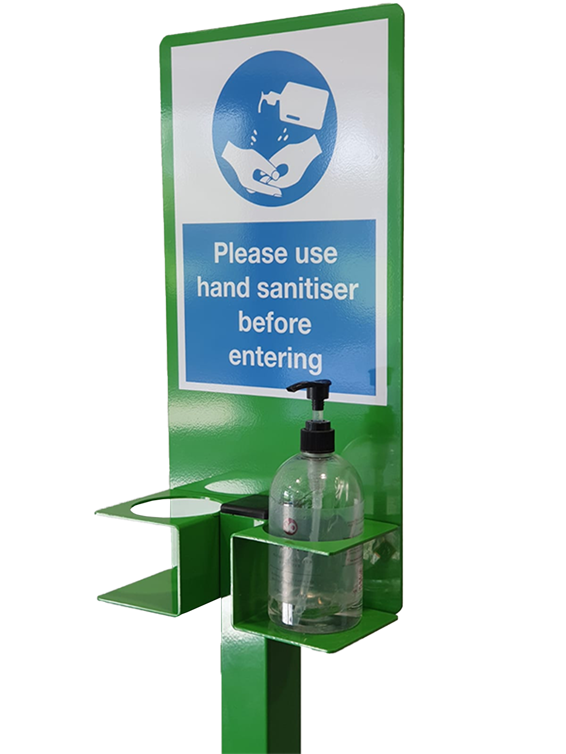 Floor Standing Hand Sanitiser Station Type 1 (Green)