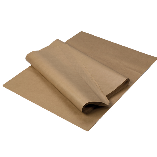 700 x 1150mm x 70gsm Pure Kraft Sheets    Ream (500 Sheets)