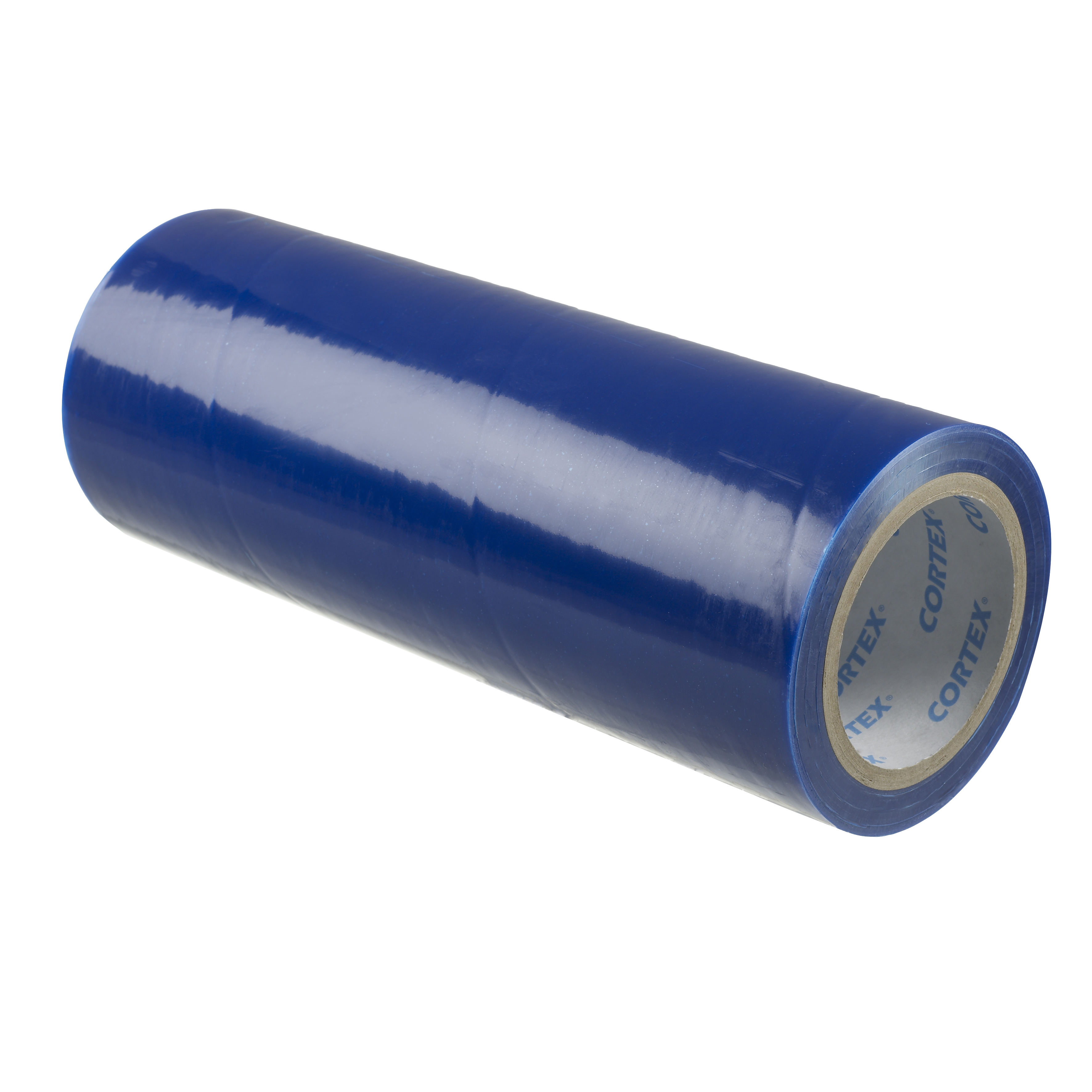 600mm x 100m Blue Low Tack Protection Film