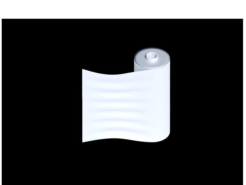 450mm x 300m x 17mu Clear Flush Core Pallet Wrap