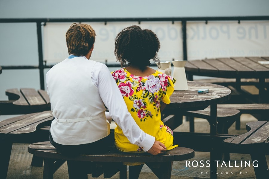 Wedding Photography Cornwall Polkerris Beach by Ross Talling Hollie & George_0090