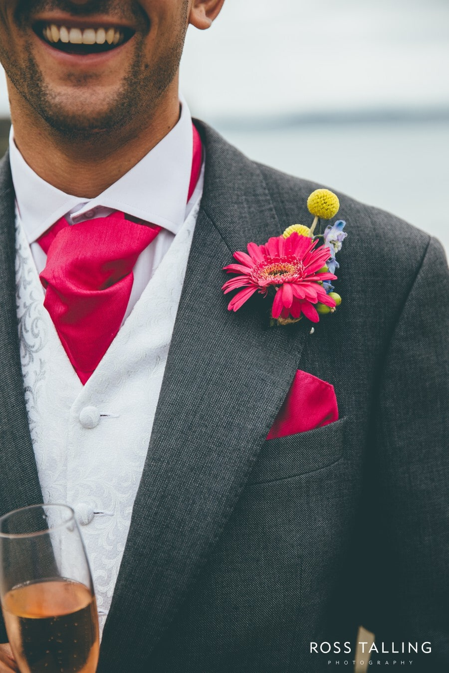 Wedding Photography Cornwall Polkerris Beach by Ross Talling Hollie & George_0076